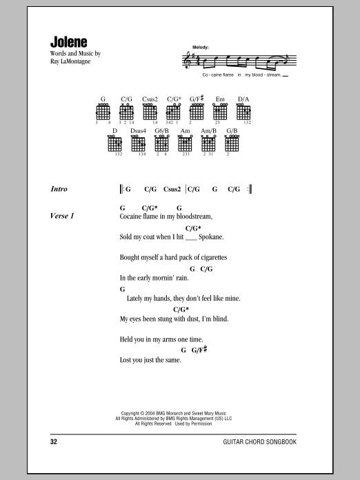 Jolene | Sheet Music Direct