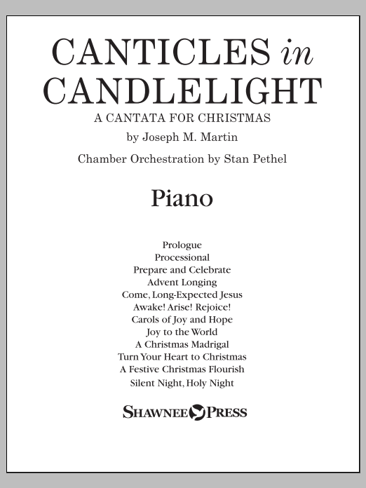 Canticles in Candlelight - Piano Sheet Music