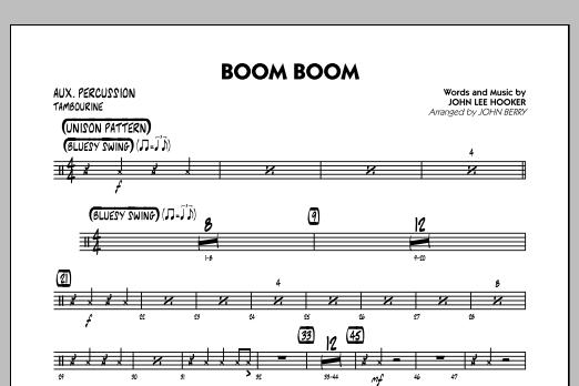 Boom Boom - Aux Percussion (Jazz Ensemble)