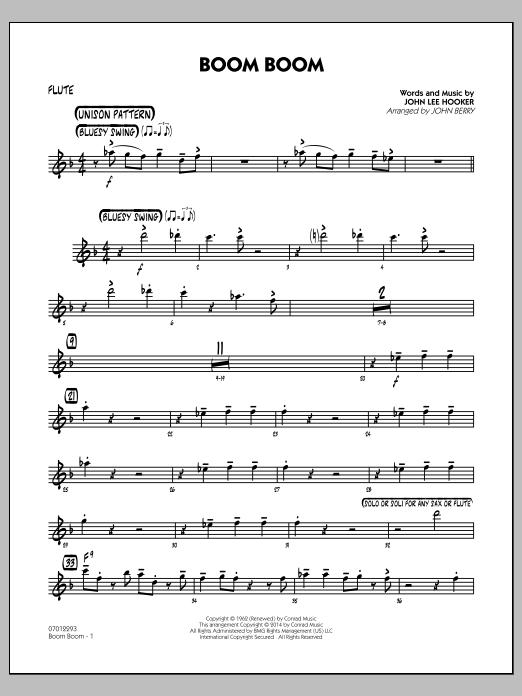 Boom Boom - Flute (Jazz Ensemble)