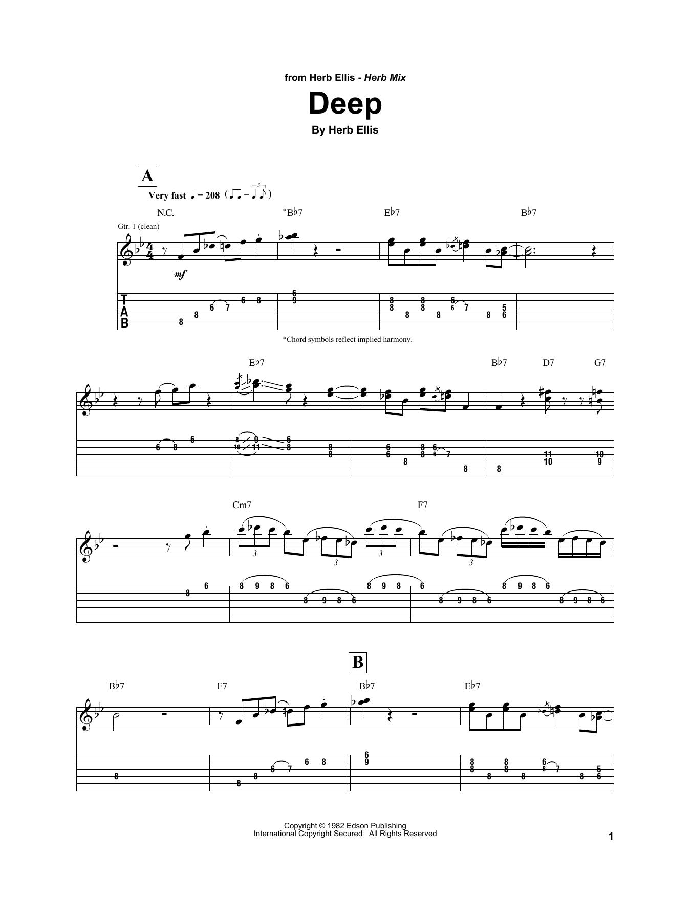 Deep Sheet Music