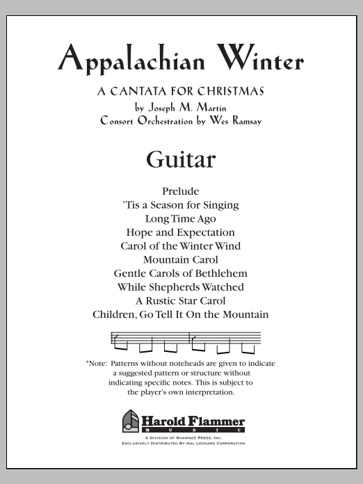 Appalachian Winter - Guitar Sheet Music