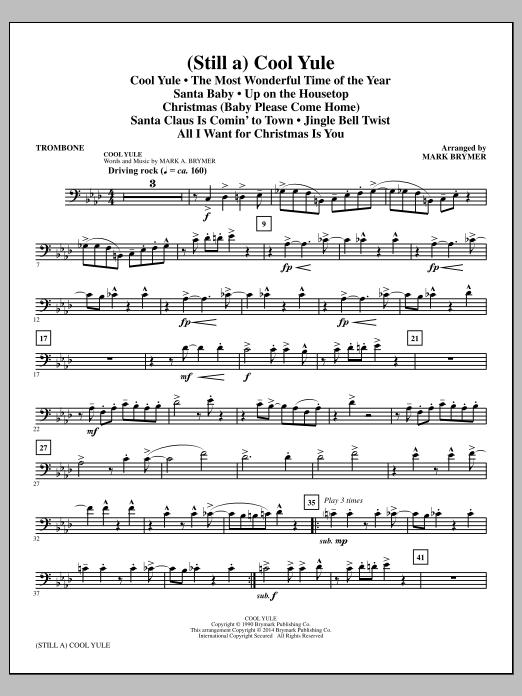 (Still A) Cool Yule (Choral Medley) - Trombone (Choir Instrumental Pak)