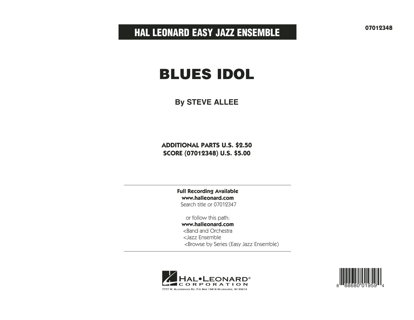 Blues Idol - Conductor Score (Full Score) (Jazz Ensemble)