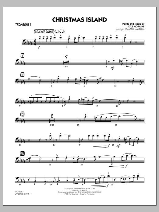 Christmas Island - Trombone 1 (Jazz Ensemble)