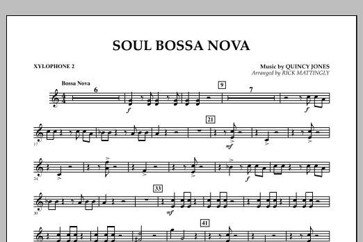 Soul Bossa Nova - Xylophone 2 (Concert Band)