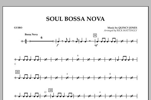 Soul Bossa Nova - Guiro (Concert Band)
