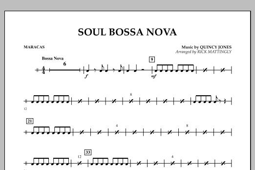 Soul Bossa Nova - Maracas (Concert Band)