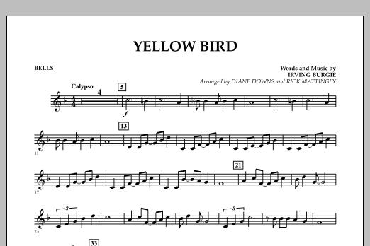 Yellow Bird - Bells (Concert Band)