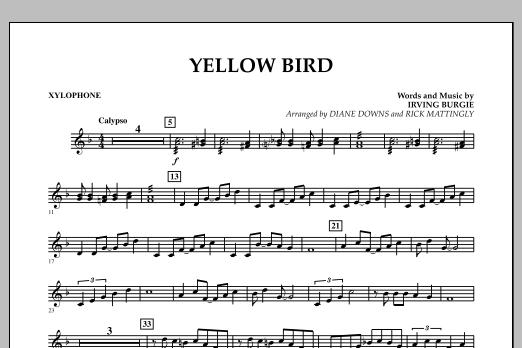 Yellow Bird - Xylophone (Concert Band)