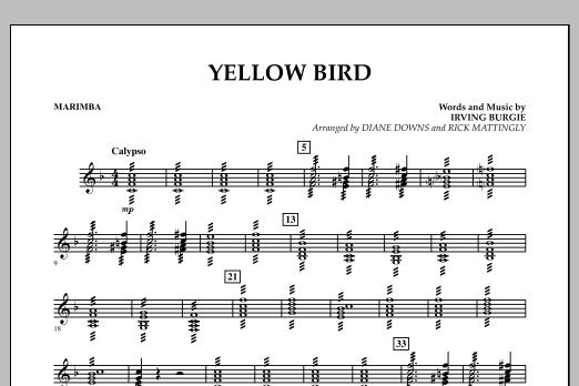 Yellow Bird - Marimba (Concert Band)