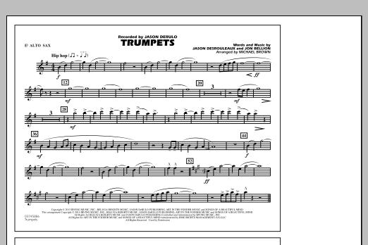 Trumpets - Eb Alto Sax (Marching Band)