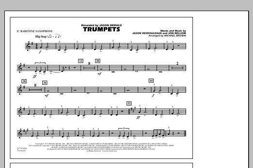 Trumpets - Eb Baritone Sax (Marching Band)