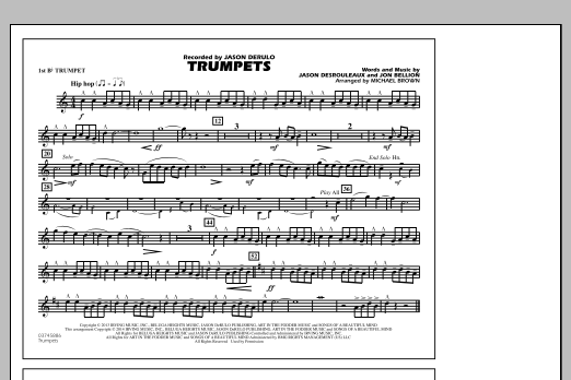 Trumpets - 1st Bb Trumpet (Marching Band)