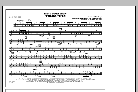 Trumpets - 3rd Bb Trumpet (Marching Band)
