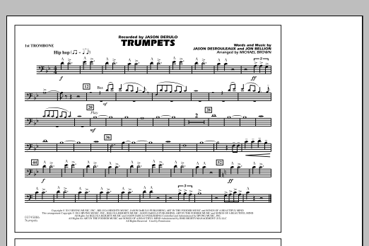 Trumpets - 1st Trombone (Marching Band)