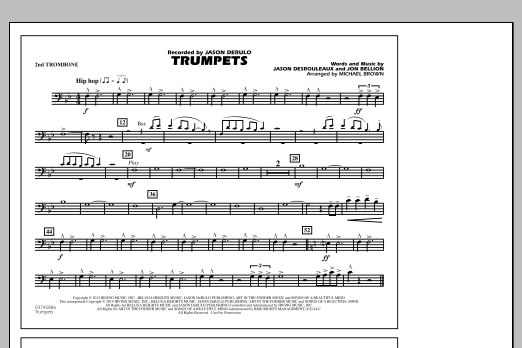 Trumpets - 2nd Trombone (Marching Band)