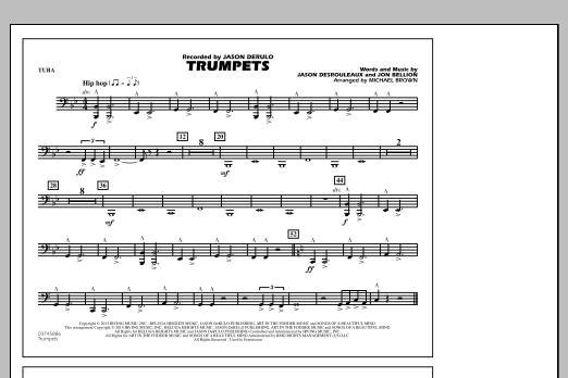 Trumpets - Tuba (Marching Band)