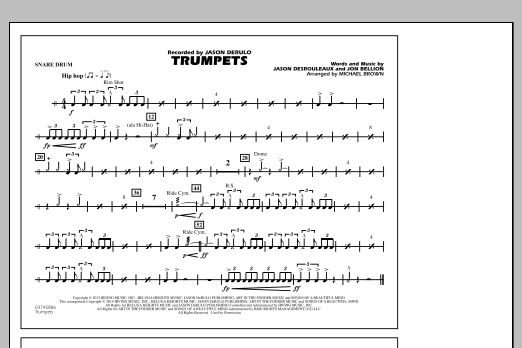 Trumpets - Snare Drum (Marching Band)