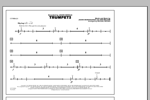 Trumpets - Cymbals (Marching Band)