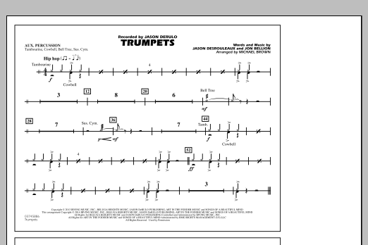 Trumpets - Aux Percussion (Marching Band)