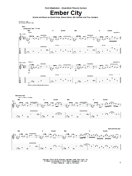 Ember City Sheet Music