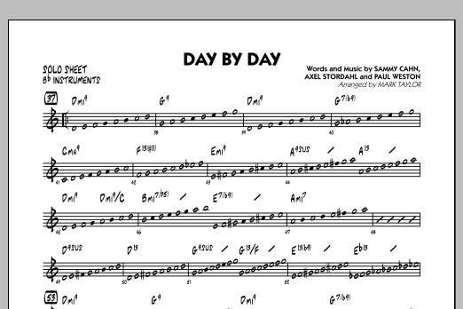 Day by Day - Bb Solo Sheet (Jazz Ensemble)