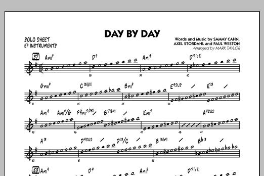 Day by Day - Eb Solo Sheet (Jazz Ensemble)