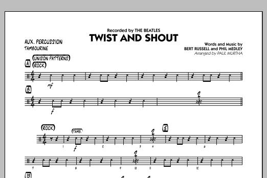 Twist and Shout - Aux Percussion (Jazz Ensemble)