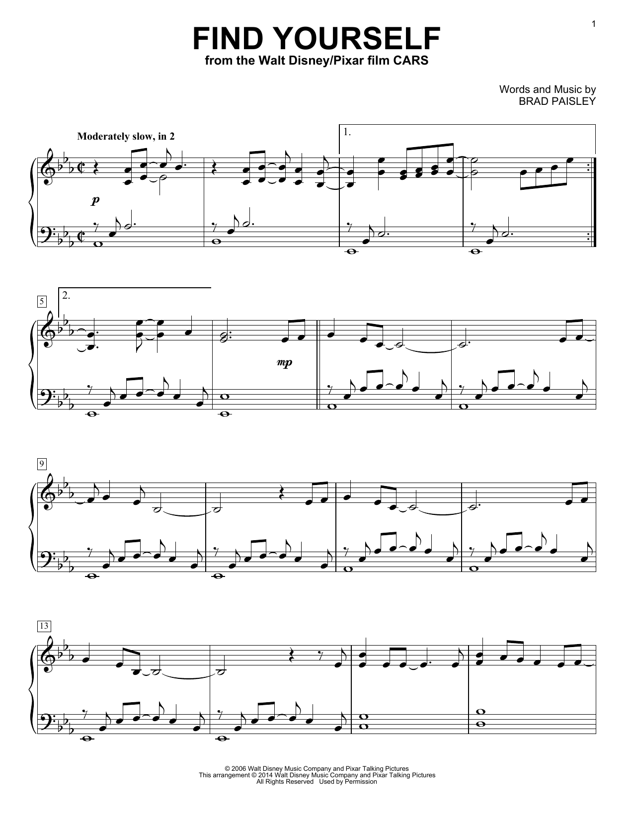 Find Yourself Sheet Music