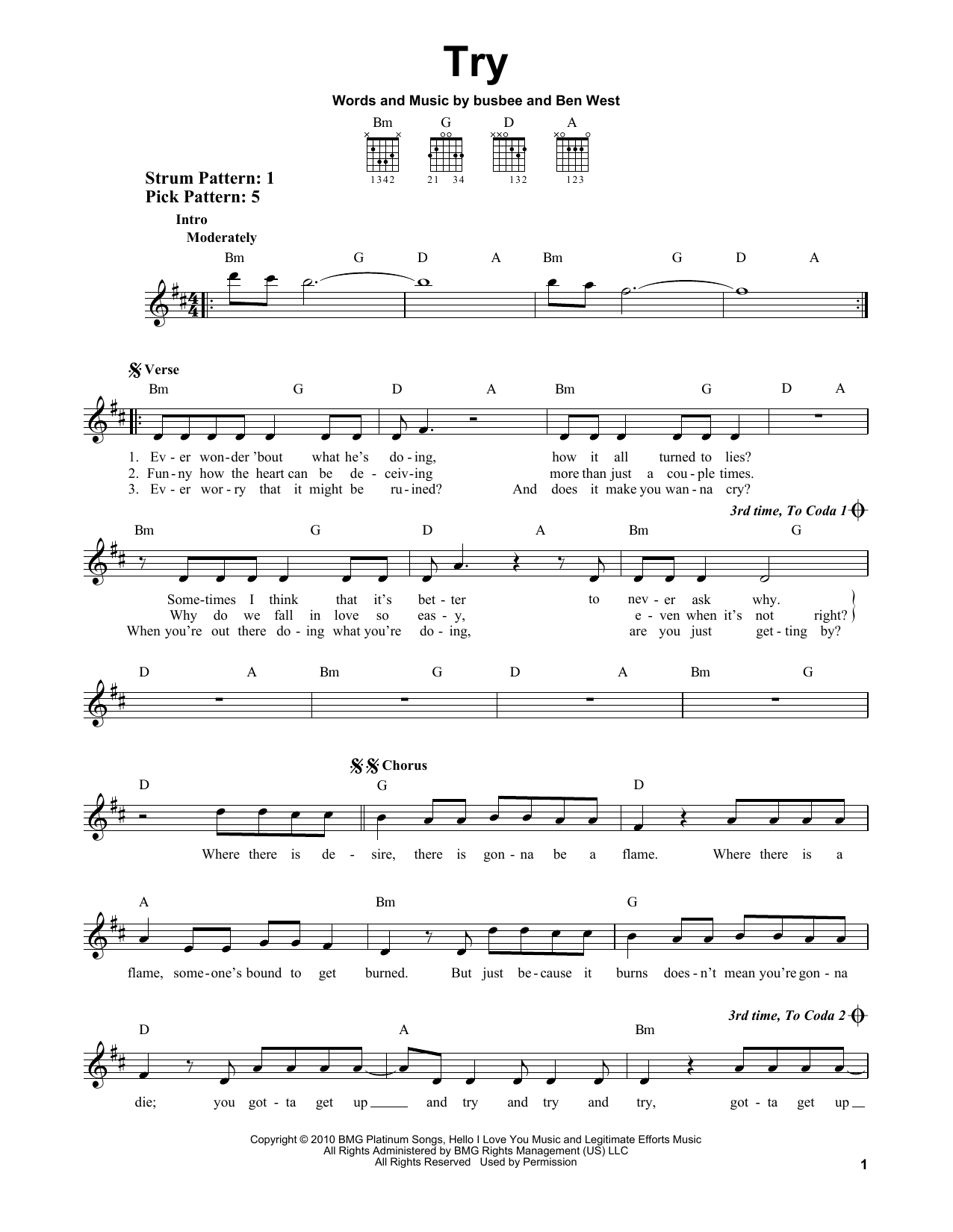 Try Sheet Music