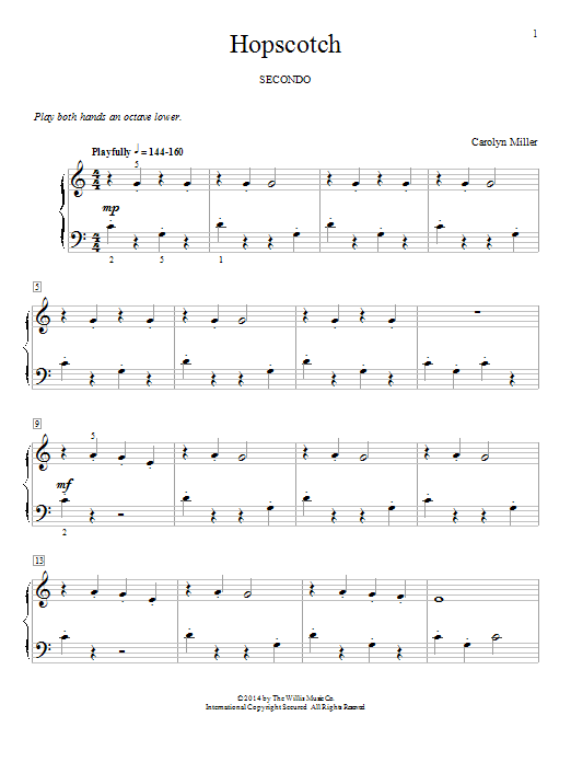 Hopscotch Sheet Music