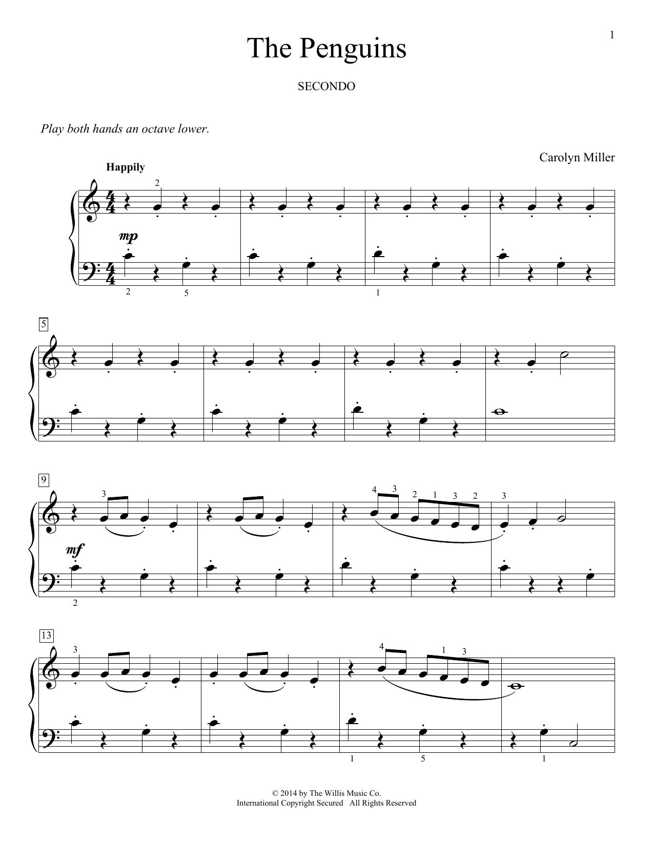 The Penguins Sheet Music