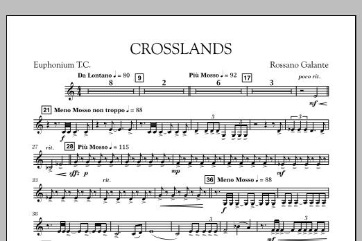 Crosslands - Euphonium in Treble Clef (Concert Band)