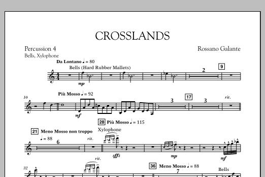 Crosslands - Percussion 4 (Concert Band)