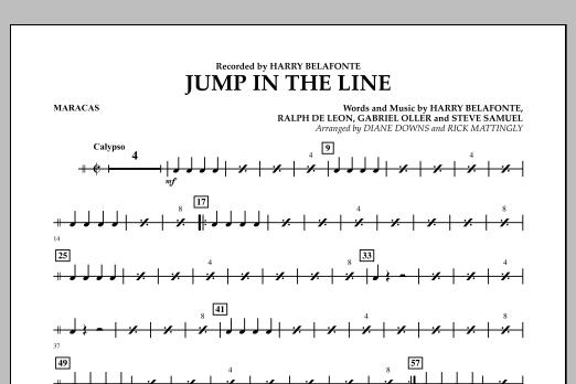 Jump in the Line - Maracas (Concert Band)