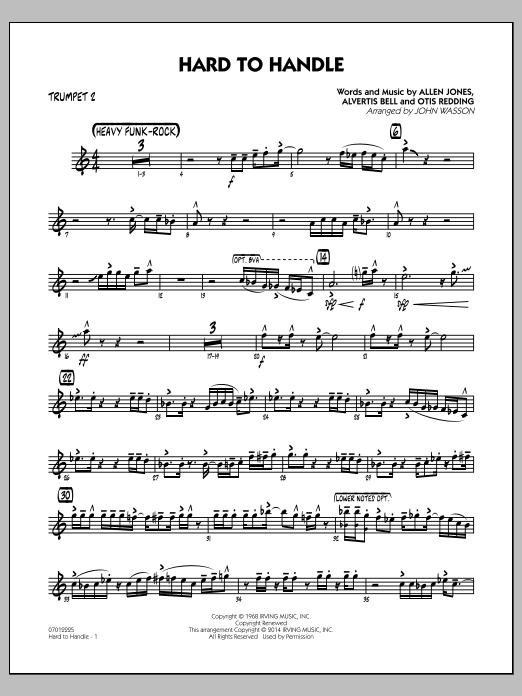 Hard to Handle - Trumpet 2 (Jazz Ensemble)