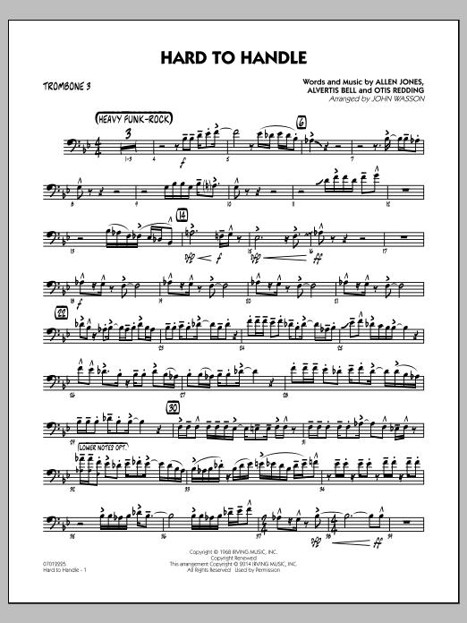 Hard to Handle - Trombone 3 (Jazz Ensemble)
