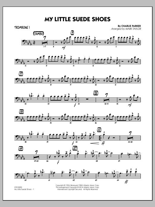 My Little Suede Shoes - Trombone 1 (Jazz Ensemble)