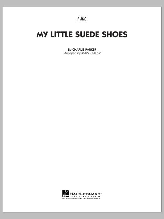My Little Suede Shoes - Piano (Jazz Ensemble)