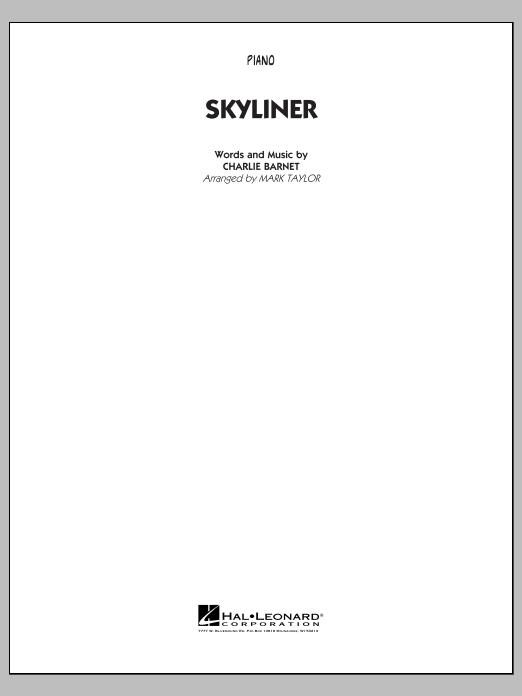Skyliner - Piano (Jazz Ensemble)