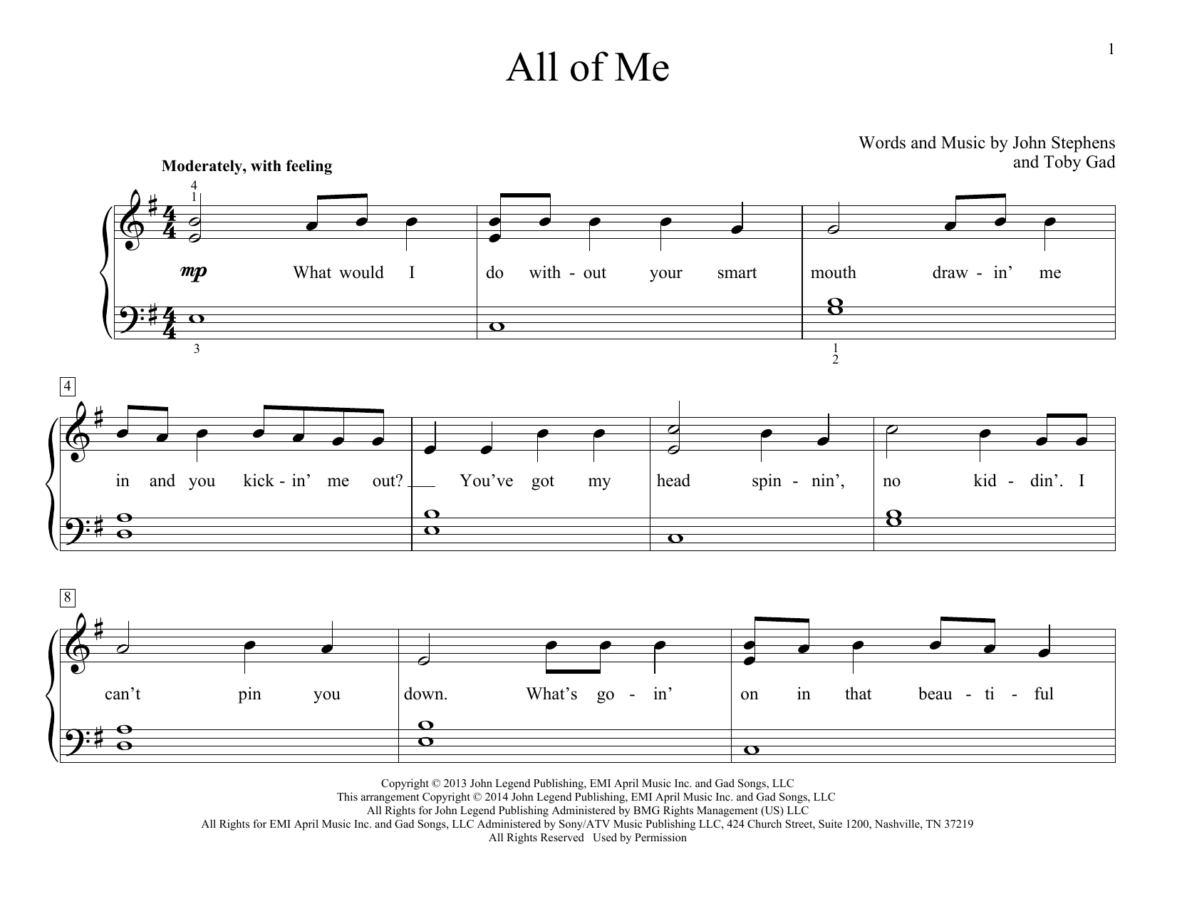 All of me sheet music direct sheet preview all of me hexwebz Gallery