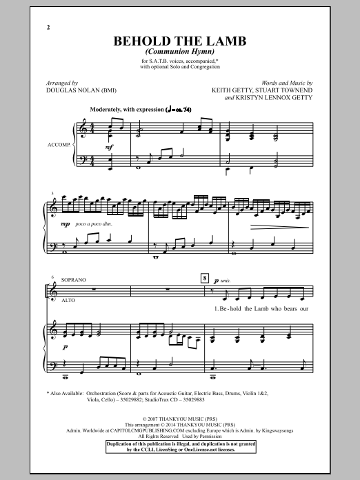 You Are the New Day (SATB ) by John David/ar - J.W. Pepper