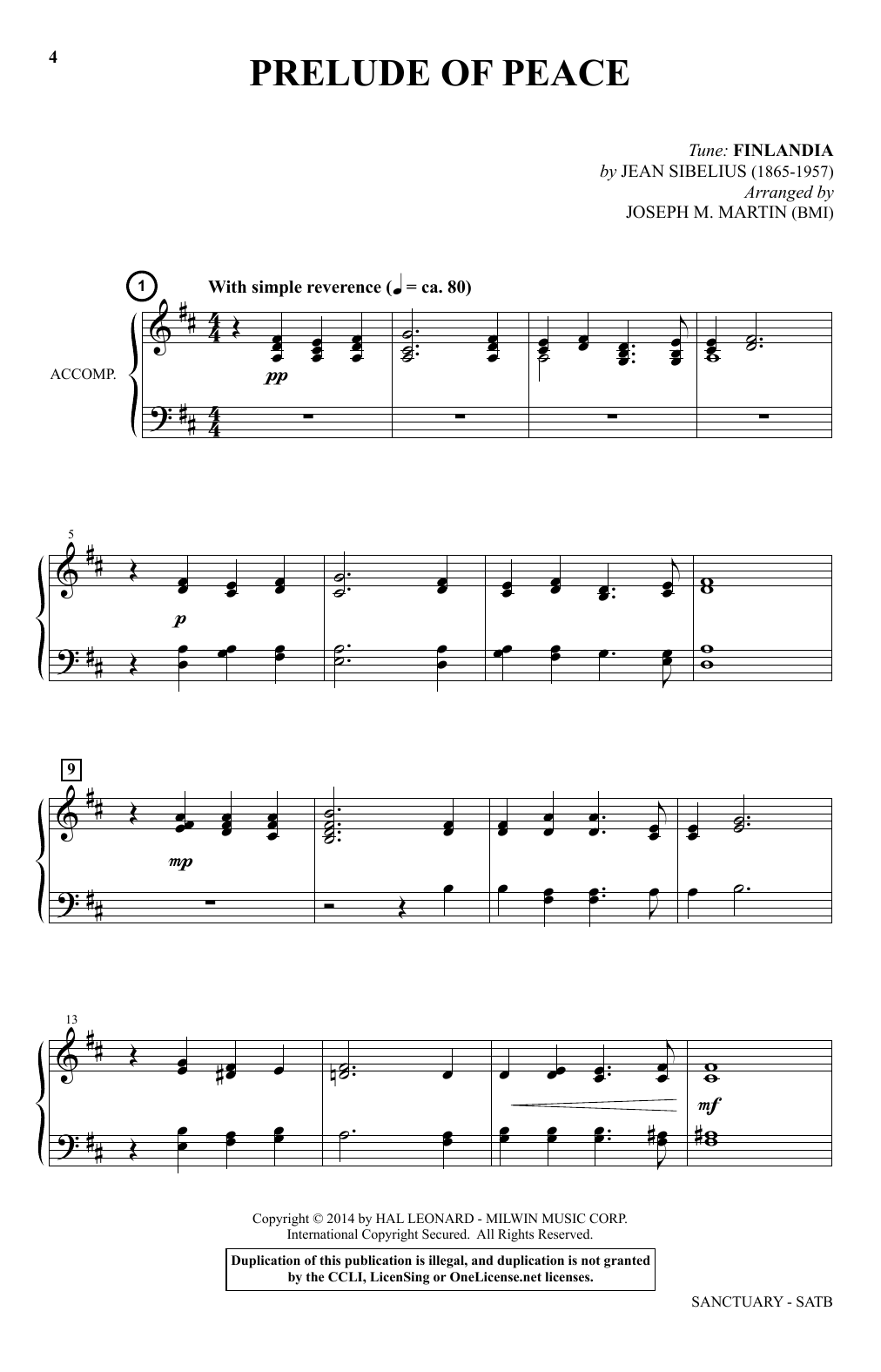 In The Shadow Of Your Wing (SATB Choir)