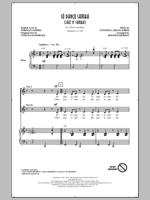 Jazz 'N' Samba Sheet Music