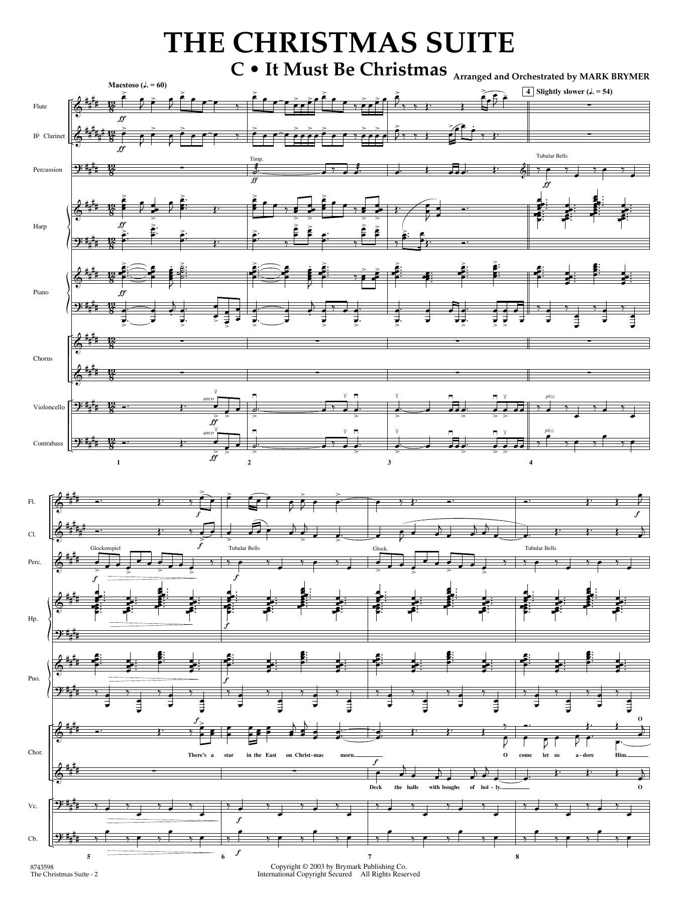 The Christmas Suite (For SSA Choir & Soloist) - Full Score (Choir Instrumental Pak)