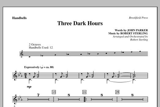 Three Dark Hours - Handbells (Choir Instrumental Pak)