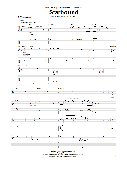 Starbound Sheet Music