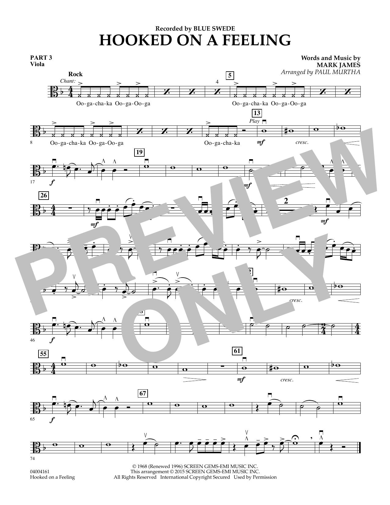 Hooked On A Feeling - Pt.3 - Viola (Flex-Band)