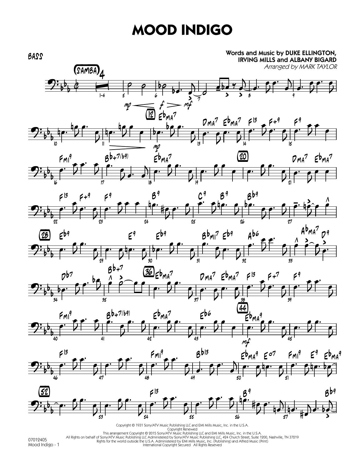Mood Indigo - Bass (Jazz Ensemble)